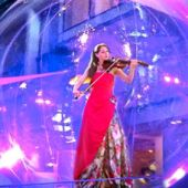 Скрипачка Марина
