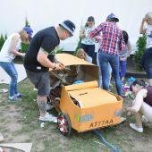 Программа тимбилдинга -Гонки на самодельных машинах
