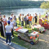 Программа тимбилдинга Формула 1 на самодельных болидах