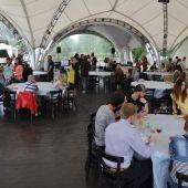 открытая площадка с шатром для проведения   мероприятий в Москве