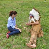 тимбилдинг программа на природе Индейский остров