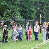 заказать организацию  тимбилдинга Индейский остров на летний   корпоратив