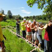 проведение тимбилдинга веревочный курс
