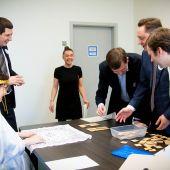 Проведение корпоративной игры в офисе