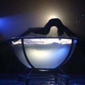 Номер Девушка в аквариуме