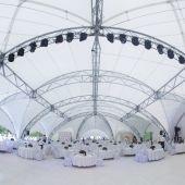 Проведение мероприятий в шатре