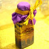 Бутылочки с цветным песком