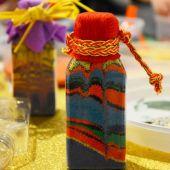 Мастер класс бутылочки с цветным песком