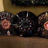 Мастер класс Часы из виниловых пластинок