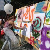 Мастер - класс по граффити