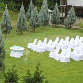 Летняя площадка для свадьбы