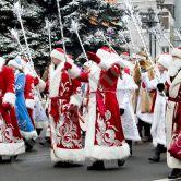 """""""День выборов Деда Мороза"""" новогодняя программа"""