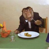 Номер Обезьяна в ресторане