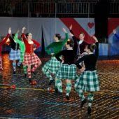 Ансамбль шотландских танцев