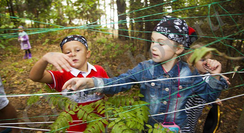 Как самому сделать квест для детей на природе